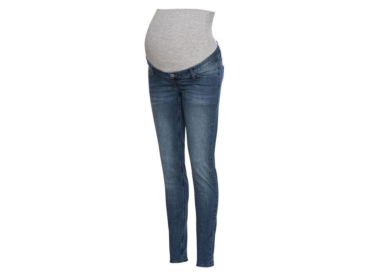 Bild 3 von ESMARA® PURE COLLECTION Damen Umstands-Jeans