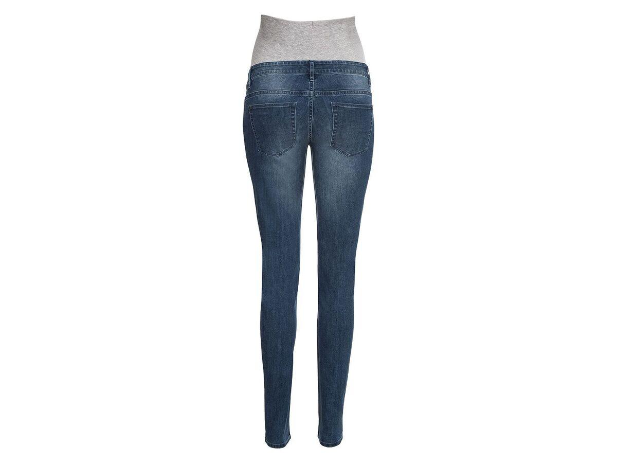 Bild 4 von ESMARA® PURE COLLECTION Damen Umstands-Jeans