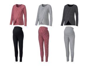ESMARA® Lingerie PURE COLLECTION Damen Umstands-Pyjama