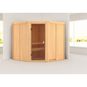"Karibu              Sauna ""Kotka "", naturbelassen, ohne Ofen"