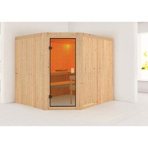 """Karibu              Sauna """"Horna """", naturbelassen, ohne Ofen"""