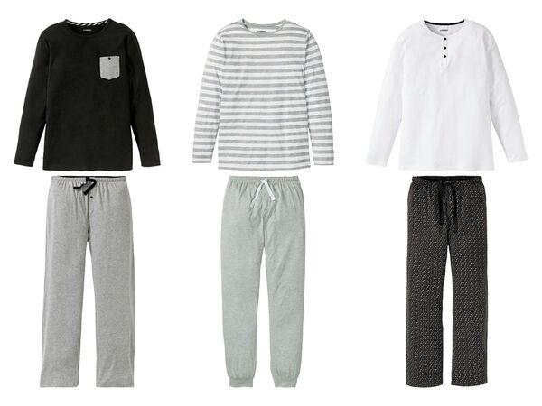 LIVERGY® Herren Pyjama