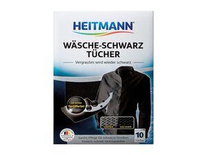 Heitmann Wäsche-Schwarz-/ Jeans-Blau-Tücher