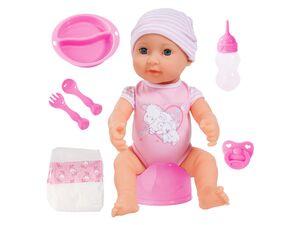 Bayer Design Funktionspuppe Piccolina Newborn Baby