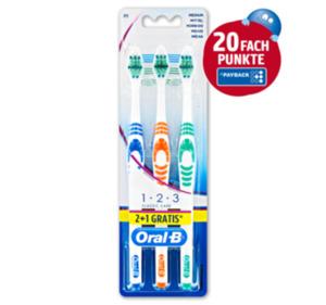 ORAL-B Classic Care Zahnbürsten