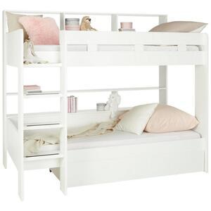 Etagenbett in Weiß