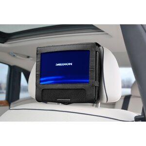 """MEDION LIFE® E72054 Portabler DVD-Player mit 17,78 cm (7"""") digitalem Display, bis zu 3 Stunden Laufzeit, Wiedergabe von MP3-Dateien vom USB Stick oder MP3-Player"""