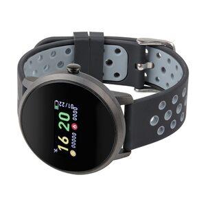 MEDION LIFE® E1800 Fitnessuhr mit LCD Farbdisplay, Multi-Sport Modi, Herzfrequenzmesser, Schrittzähler, Metallgehäuse, Wassergeschützt nach IP 68