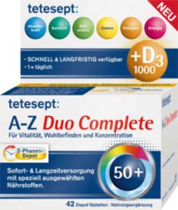 tetesept Vitamin A-Z Duo Complete Tabletten 42St.