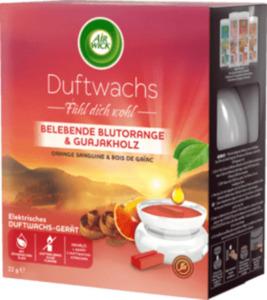 AirWick Duftwachs Belebende Blutorange & Guajakholz Starter-Set