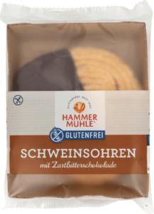 Hammermühle Schweinsohren mit Zartbitterschokolade