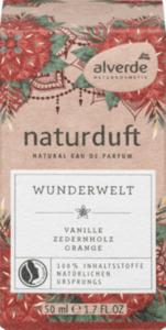 alverde naturduft Eau de Parfum Wunderwelt