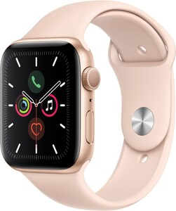Apple Watch Series 5 (44mm) GPS mit Sportarmband gold/sandrosa