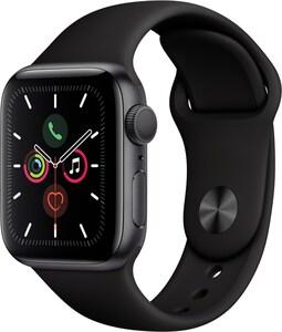 Apple Watch Series 5 (40mm) GPS mit Sportarmband spacegrau/schwarz