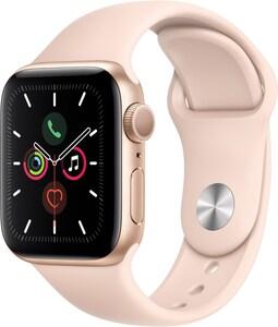 Apple Watch Series 5 (40mm) GPS mit Sportarmband gold/sandrosa