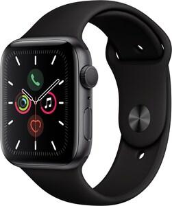 Apple Watch Series 5 (44mm) GPS mit Sportarmband spacegrau/schwarz