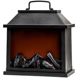 LED Mini-Kamin mit Feuer-Leuchteffekt