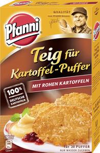 Pfanni Teig für Kartoffel-Puffer mit rohen Kartoffeln für 20 Stück