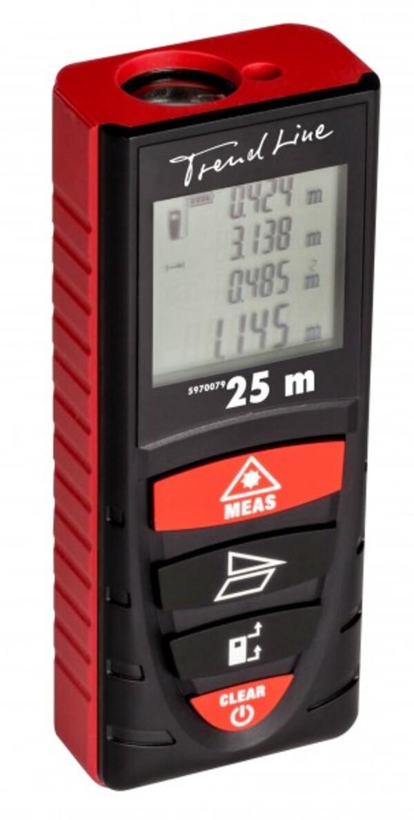 PRIMASTER Entfernungsmesser Laser 25m ,  Arbeitsbereich: 0,2-25 m
