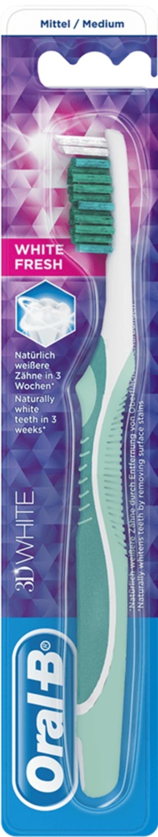Oral-B Zahnbürste 3D White mittel 1 Stück