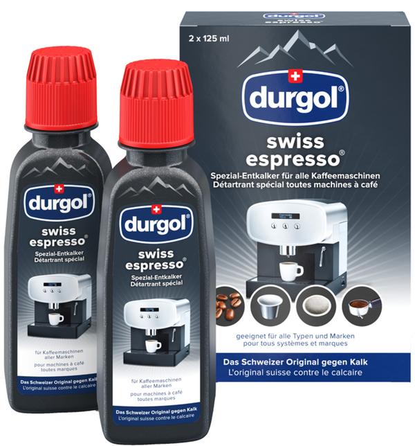 durgol Swiss Espresso Spezial-Entkalker 2x 125 ml