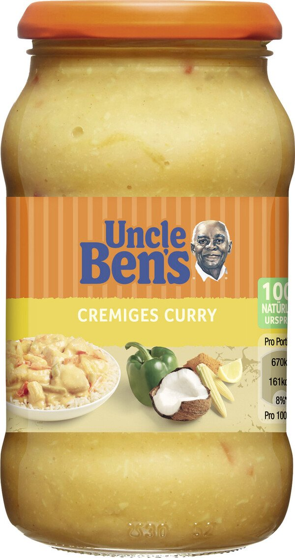 Uncle Ben´s Sauce Cremiges Curry 400 g