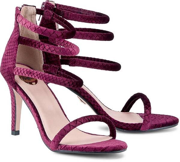 High-Heels Rosebloom von Buffalo in bordeaux für Damen. Gr. 36