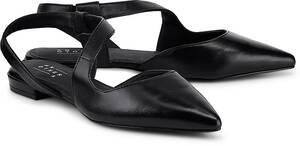Riemchen-Ballerina von Another A in schwarz für Damen. Gr. 41
