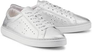 Trend-Sneaker von COX in silber für Damen. Gr. 37,38,39,40,41