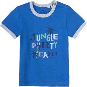 Baby T-Shirt blau Gr. 80 Jungen Kinder