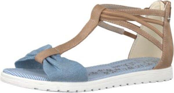 Sandalen hellblau Gr. 34 Mädchen Kinder