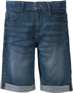Jeansshorts BOB Regular Fit mit gekrempeltem Saum , Bundweite BIG denim Gr. 140 Jungen Kinder