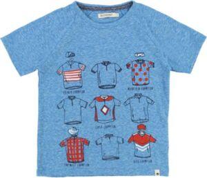 T-Shirt blau Gr. 140 Jungen Kinder