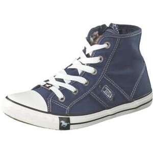 Mustang Sneaker High Mädchen blau