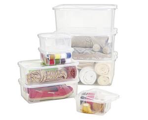 EASY HOME® Klarsichtboxen-Set, 8-teilig