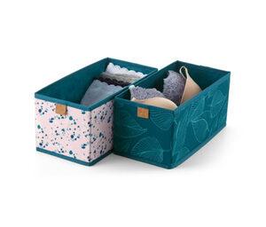 2 Schubladen-Ordnungsboxen