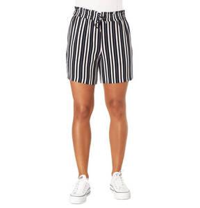 ONLY             Shorts, Streifen, Loose Fit, Kordelzug, Ziertaschen