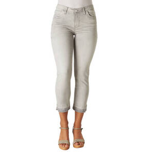 "Blue Fire             Jeans ""Nancy"", Slim Fit, Cropped, Glitzer-Details"