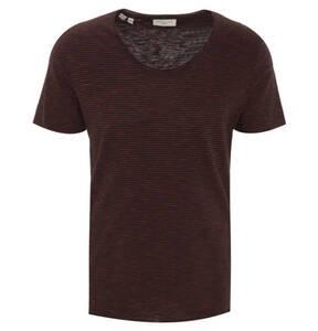 SELECTED             T-Shirt, Rundhalsausschnitt, Bio-Baumwolle, Rollsaum