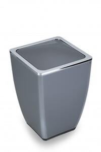 TrendLine Kosmetikeimer Cube ,  anthrazit, 5 l