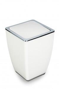 TrendLine Kosmetikeimer Cube ,  weiß, 5 l