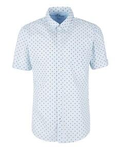 s. Oliver - Kurzarmhemd mit modeischem Allover-Print