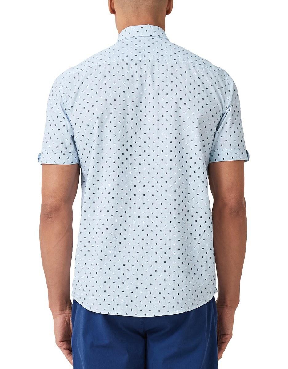 Bild 2 von s. Oliver - Kurzarmhemd mit modeischem Allover-Print