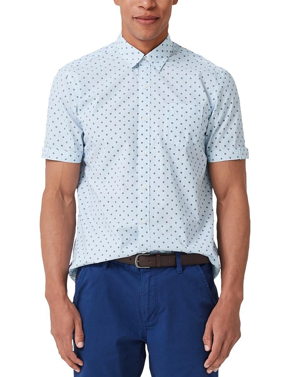 Bild 3 von s. Oliver - Kurzarmhemd mit modeischem Allover-Print