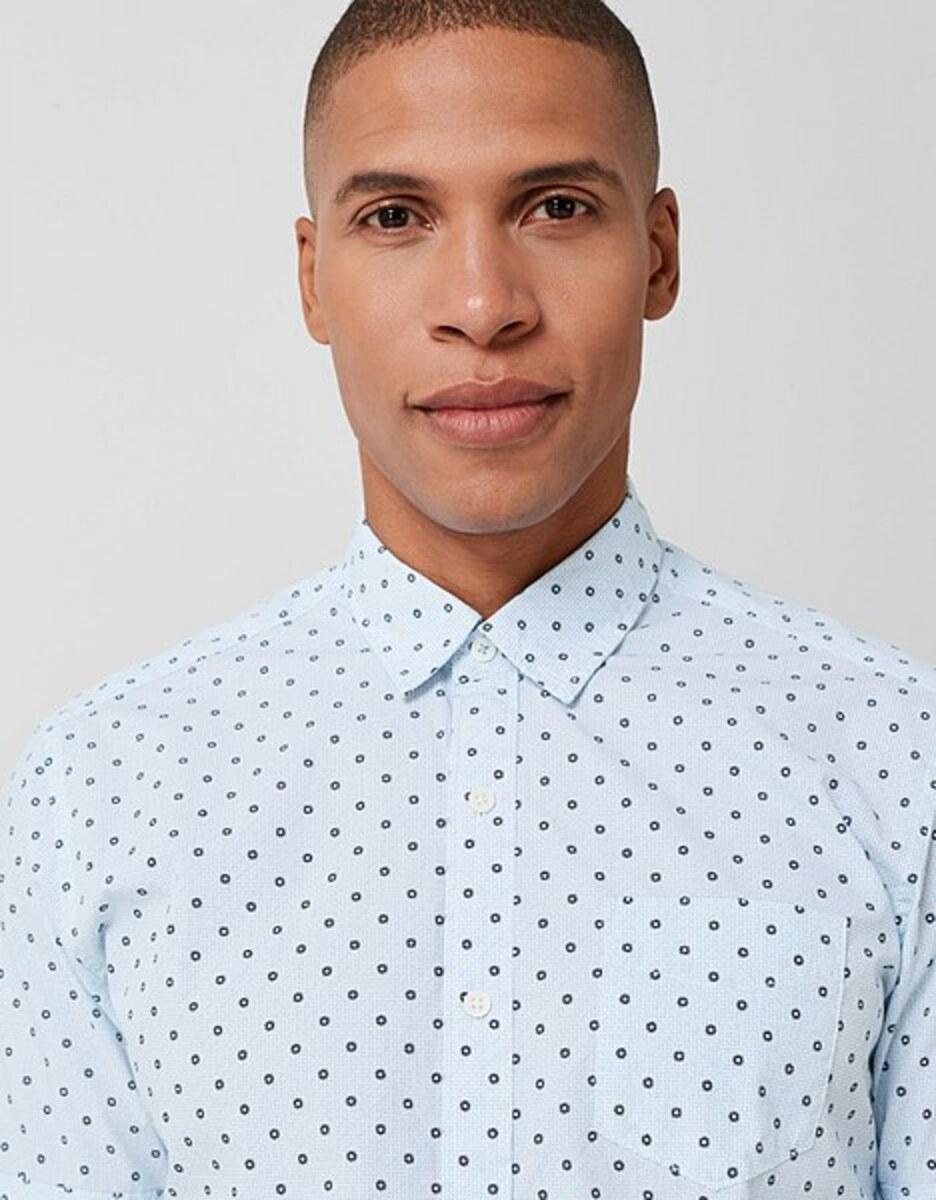 Bild 5 von s. Oliver - Kurzarmhemd mit modeischem Allover-Print