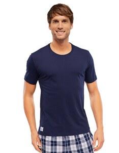Schiesser - Herren Pyjama Shirt kurzarm - Mix & Relax