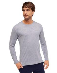 Schiesser - Herren Pyjama Shirt langarm - Mix & Relax
