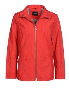 Bexleys woman - Jacke in Baumwollmischgewebe mit Metallanteil und Ösendetails