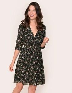 Viventy - Chiffon-Kleid mit floralem Druck