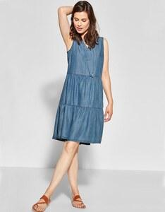 CECIL - Kleid im Denim-Style
